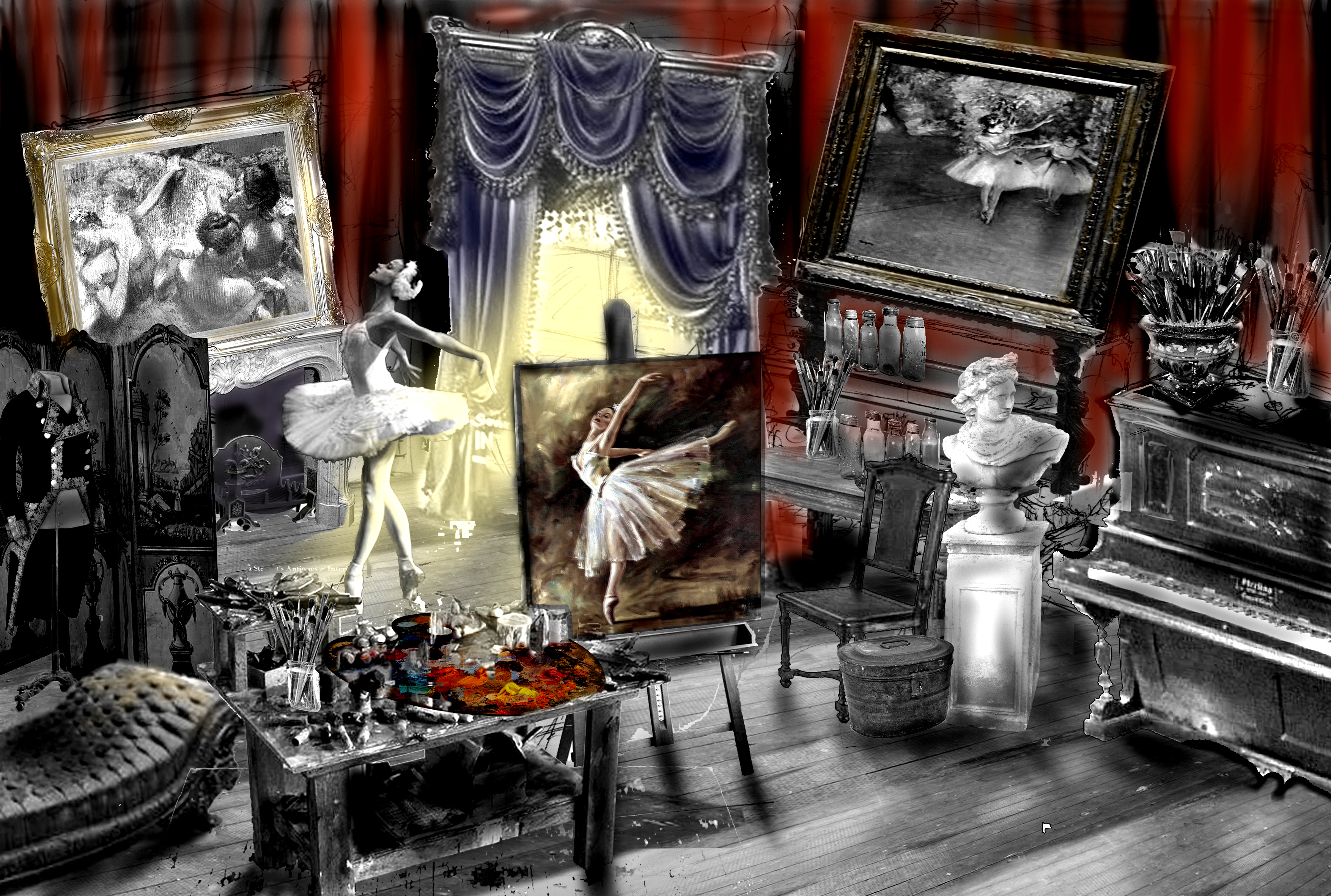 The Impressionists Degas Studio