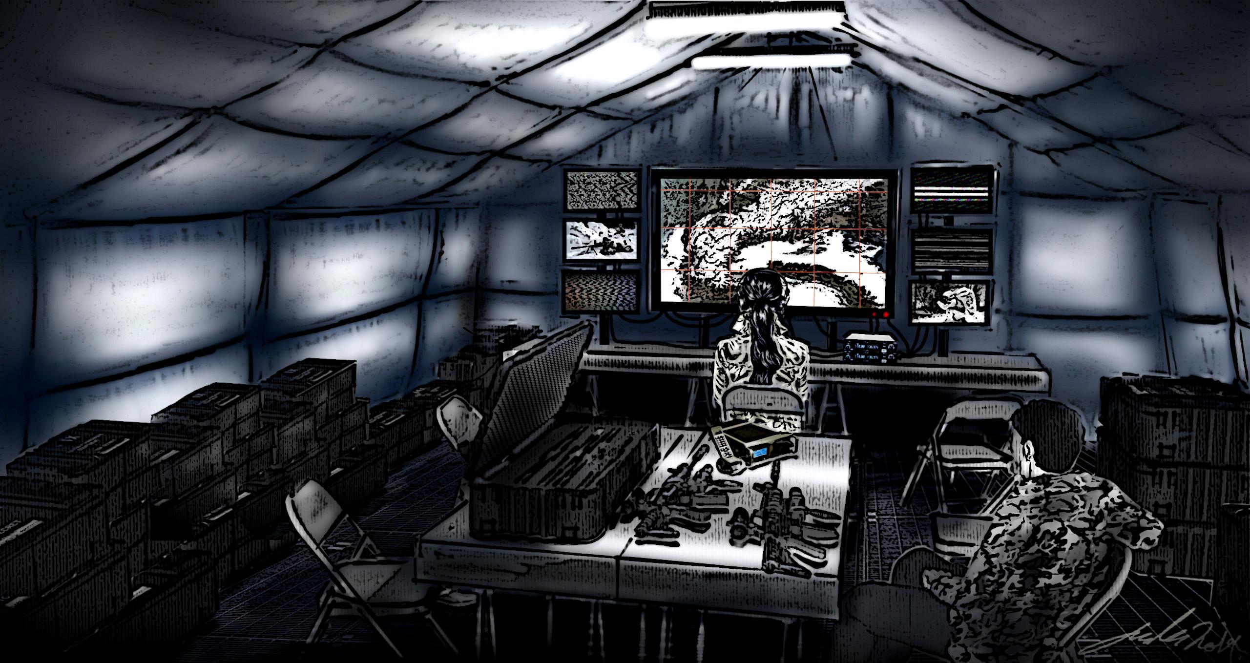 'Alex Rider' F.O.B. Tent