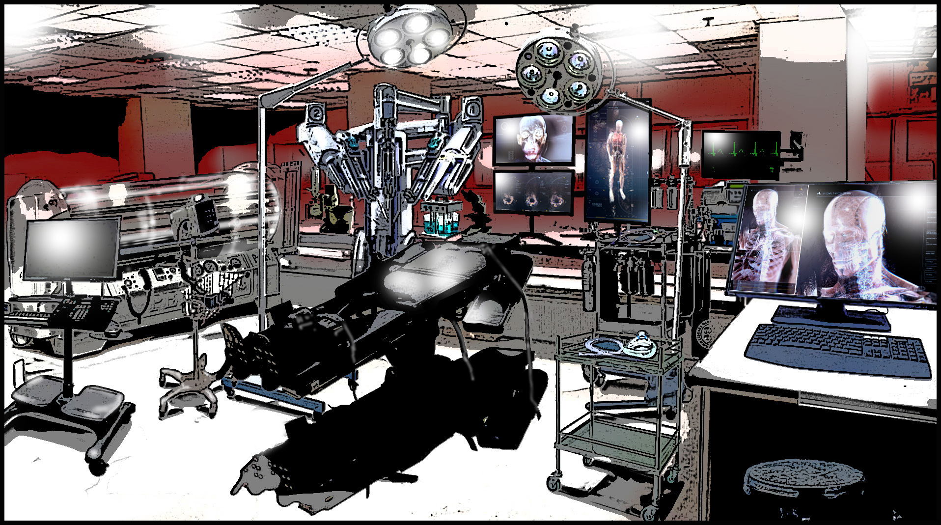 'Alex Rider' Laboratory Point Blanc