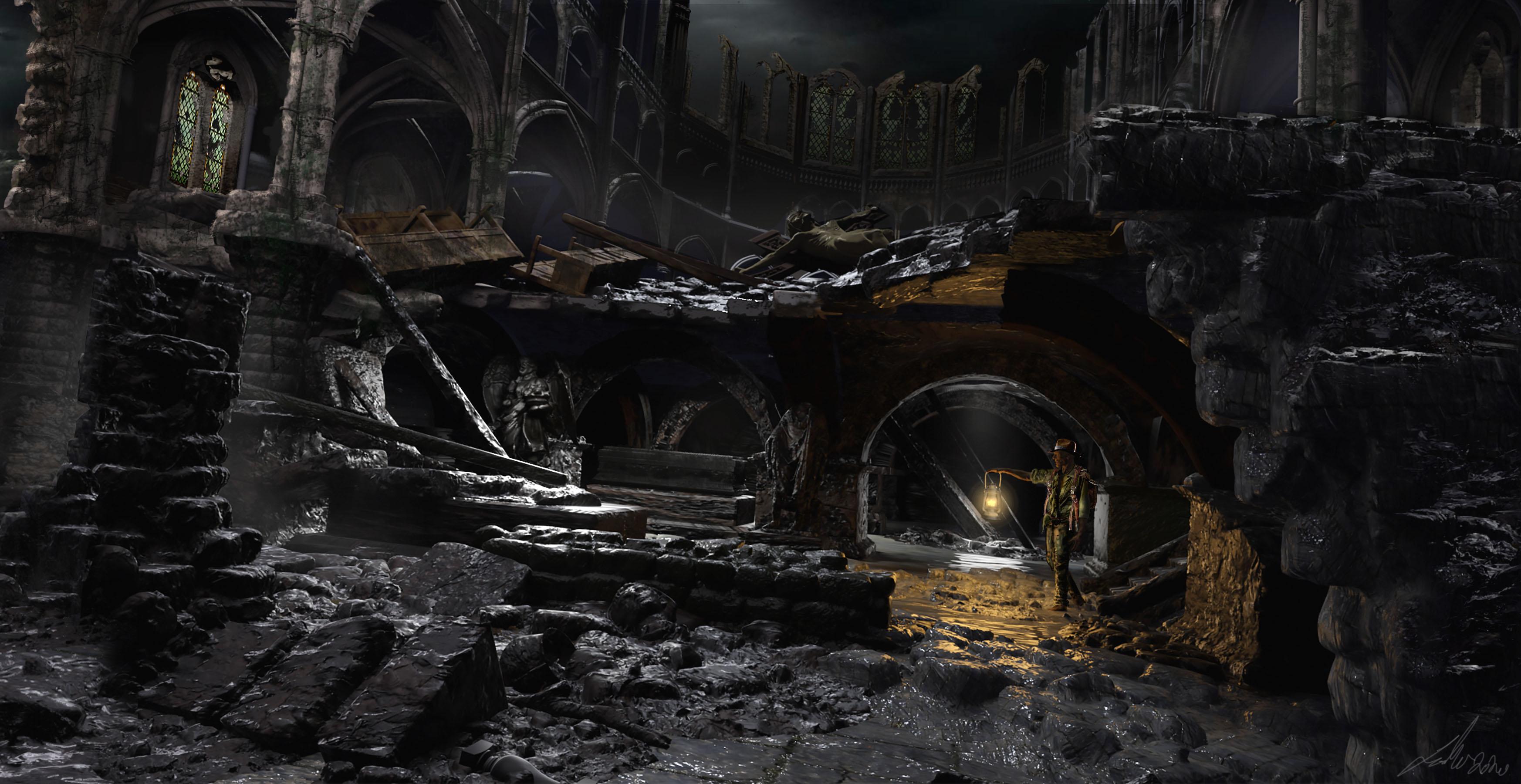 'Crypt' Concept